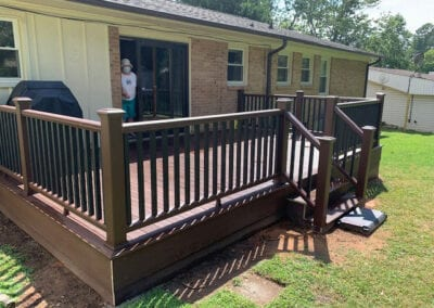 Gwinn's Siding and Windows | Upstate SC | our work for satisfied cutomers, deck